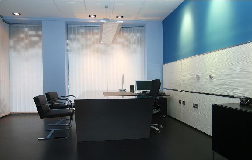 Despacho ejecutivo de estilo nórdico