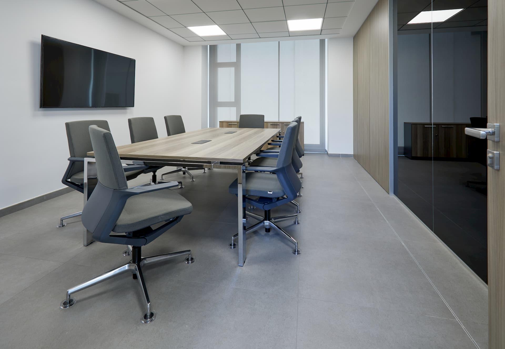 El sillón de oficina