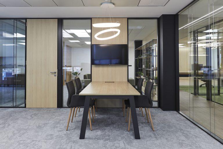 Iluminación en las oficinas
